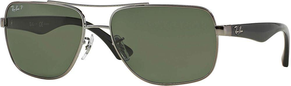 bc2b97311 نظارة شمسية راي بان رجالي لون العدسة اخضر بسعر 765.45 ريـال خصم 47%