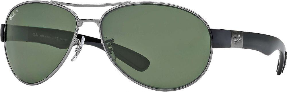 fac1e949b نظارة شمسية راي بان للجنسين لون العدسة اخضر بسعر 723.45 ريـال خصم 50%