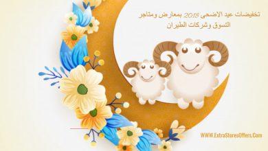 Photo of تخفيضات عيد الاضحى 2018 بالمتاجر وشركات الطيران