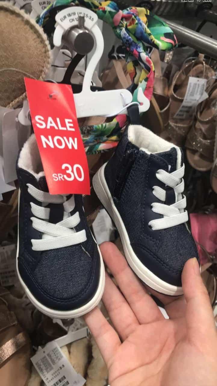 تخفيضات اتش اند ام 2019 حذاء اولادي