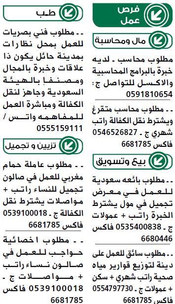 فرص عمل بمدينة جدة