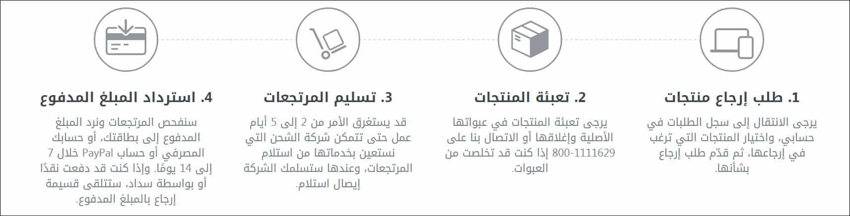 citymax السعودية خطوات الارجاع عبر الانترنت
