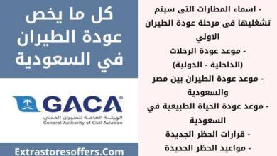 Photo of استئناف رحلات الطيران في السعودية موعد واسماء المطارات