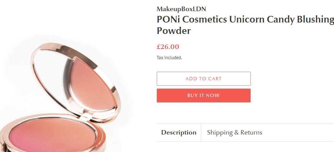 طريقة الطلب من makeupboxldn اون لاين