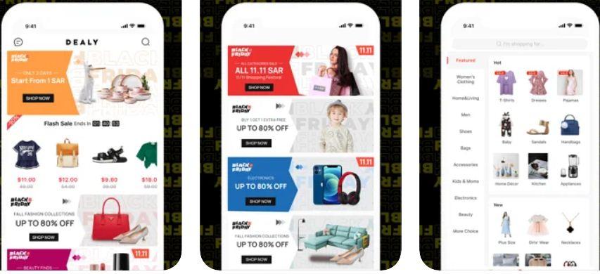 تطبيق ديلي dealy للتسوق